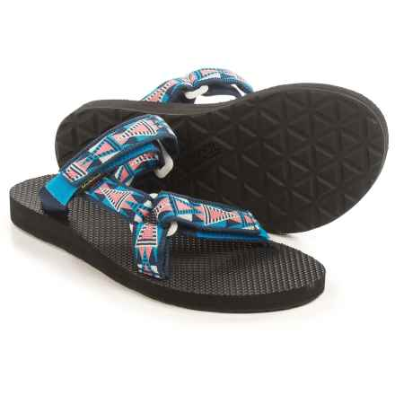 Teva Universal Slide Sandals (For Women) in Mosaic Blue - Closeouts