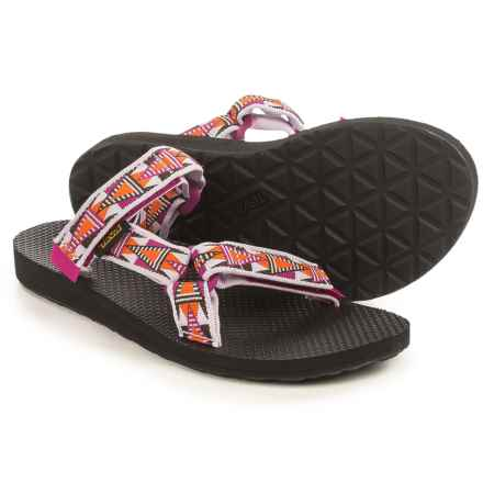 Teva Universal Slide Sandals (For Women) in Mosaic Orchid - Closeouts