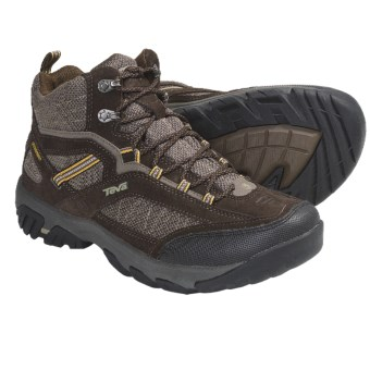 Teva Verdon Mid Hiking Boots - T.I.D.E. Waterproof (For Men) in Chocolate Chip
