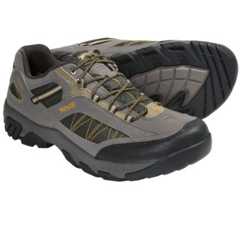 Teva Verdon Trail Shoes - T.I.D.E. Waterproof (For Men) in Black/Olive