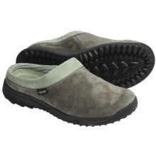 Teva Vero Clogs -Suede (For Women) in Black Olive - Closeouts