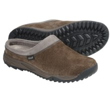 Teva Vero Clogs -Suede (For Women) in Brown - Closeouts