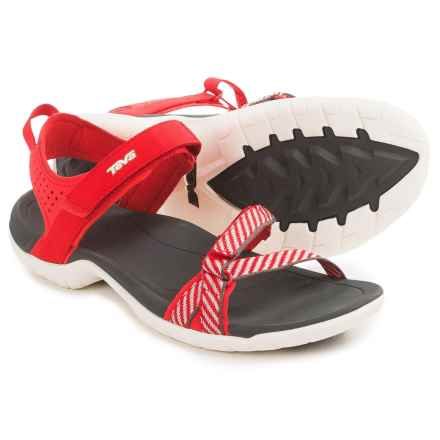 Teva Verra Sport Sandals (For Women) in Blanket Stripes Red - Closeouts