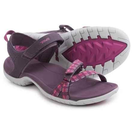 Teva Verra Sport Sandals (For Women) in Modern Stripes Purple - Closeouts