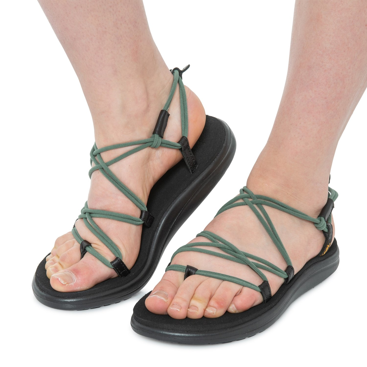 designer fashion authorized site speical offer Teva Voya Infinity Strappy Sandals (For Women) - Save 37%