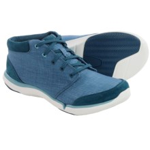 Teva Wander Canvas Chukka Shoes (For Women) in Legion Blue - Closeouts