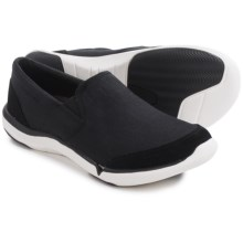 Teva Wander Canvas Shoes - Slip-Ons (For Women) in Black - Closeouts