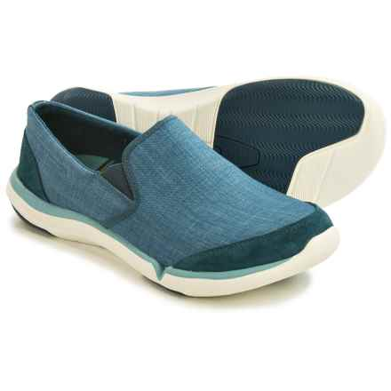 Teva Wander Canvas Shoes - Slip-Ons (For Women) in Legion Blue - Closeouts