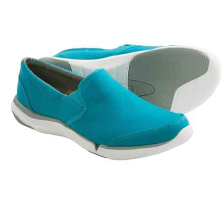 Teva Wander Shoes - Canvas, Slip-Ons (For Women) in Lake Blue - Closeouts