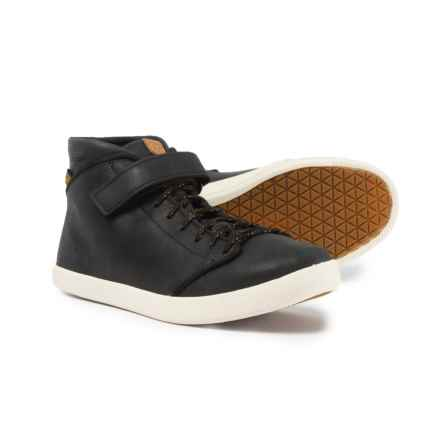 Teva Willow Chukka Sneakers - Leather (For Women) in Black - Closeouts