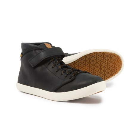 Teva Willow Chukka Sneakers - Leather (For Women) in Black