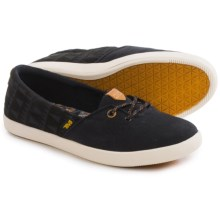 Teva Willow Shoes - Canvas, Slip-Ons (For Women) in Black - Closeouts