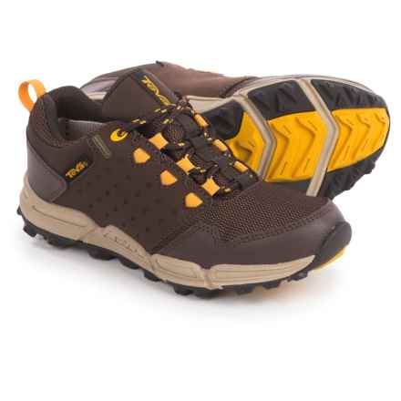 Teva Wit Shoes - Waterproof (For Little Kids) in Chocolate/Yellow - Closeouts