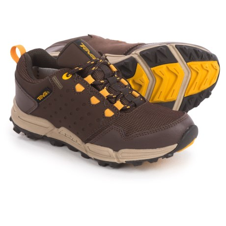 Teva Wit Shoes - Waterproof (For Little Kids) in Chocolate/Yellow