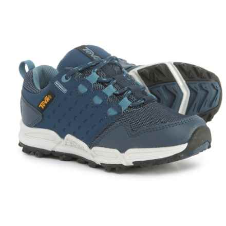 Teva Wit Trail Shoes - Waterproof (For Boys) in Navy - Closeouts