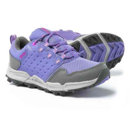 Teva Wit Trail Shoes - Waterproof (For Girls) in Purple/Grey - Closeouts