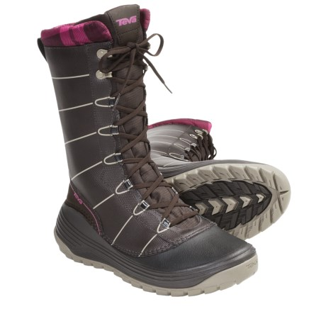 Teva Zermatt Winter Boots - Waterproof (For Women) in Brown