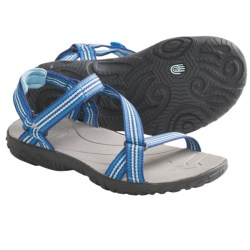Teva Zirra Sport Sandals (For Kids and Youth) in Native Stripe Algiers Blue