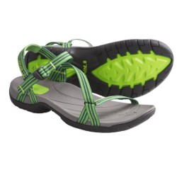 Teva Zirra Sport Sandals (For Women) in Native Stripes Green