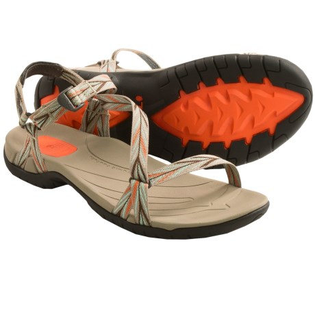 Teva Zirra Sport Sandals (For Women) in Palm Brown