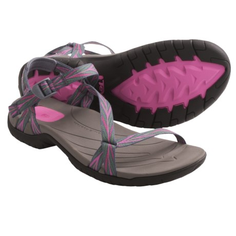 Teva Zirra Sport Sandals (For Women) in Palm Pink