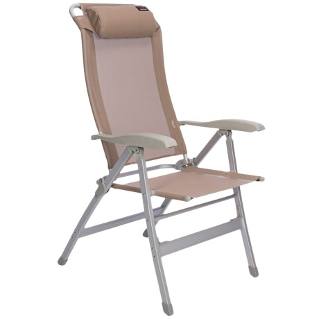Texsport Adjustable Reclining Chair in Tan