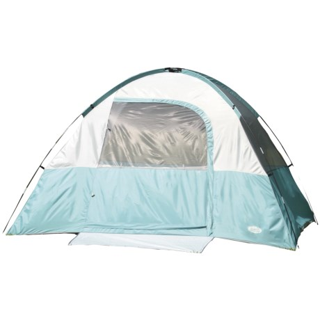Texsport Cool Canyon Square Dome Tent - 4-Person, 3-Season in Wasabi/Storm