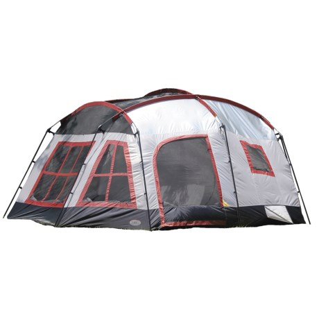 Texsport Highland Three-Room Tent - 8-Person, 3-Season