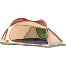 Texsport Phoenix Tent - 3-Person, 3-Season in Orange/Grey - Closeouts