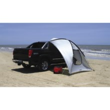 Texsport Spinnaker Auto Shade in Silver/Black - Closeouts