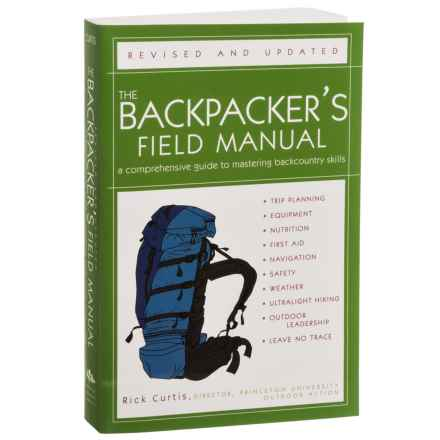 The Backpacker's Field Manual Book by Rick Curtis - Paperback in See Photo - Closeouts