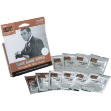 The Decent Man's Grooming Tools Shoe Shine Wipes - Set of 5 in See Photo - Closeouts