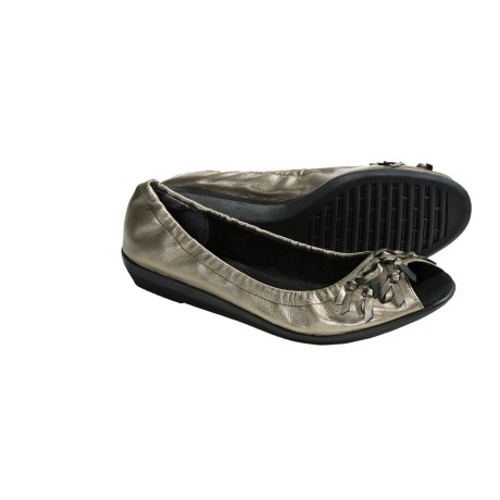 The Flexx Bowsterous Shoes - Slip-Ons (For Women) in Pewter