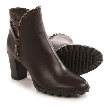 The Flexx Dip Body Ankle Boots - Leather (For Women) in Brown - Closeouts