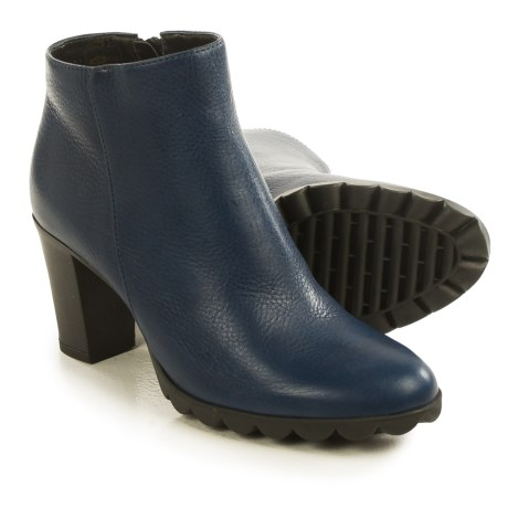 The Flexx Dipsy Ankle Boots - Leather (For Women) in Baltico Saratoga