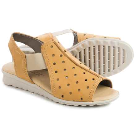 The Flexx Fan Dance Sandals - Nubuck (For Women) in Glare Nubuck - Closeouts