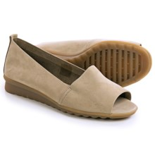 The Flexx Fantastic Shoes - Nubuck, Slip-Ons (For Women) in Corda Nubuck - Closeouts