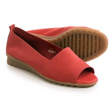 The Flexx Fantastic Shoes - Nubuck, Slip-Ons (For Women) in Marlboro Nubuck - Closeouts