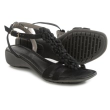 The Flexx Gladiola Sandals - Nubuck (For Women) in Black Nubuck - Closeouts