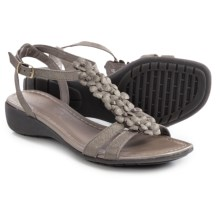 The Flexx Gladiola Sandals - Nubuck (For Women) in Canna Di Fucile Saffio - Closeouts
