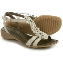 The Flexx Gladiola Sandals - Nubuck (For Women) in Platino Saffio - Closeouts