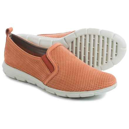 The Flexx Lights Slip-On Sneakers - Nubuck (For Women) in Heat Nubuck Foro - Closeouts