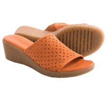 The Flexx Love 'Em Wedge Sandals (For Women) in Mango - Closeouts