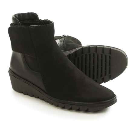 The Flexx Malificent Suede Boots (For Women) in Black Dakar/Cashmere - Closeouts