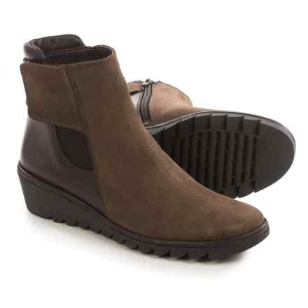 The Flexx Malificent Suede Boots (For Women) in Ebony Dakar/Cashmere - Closeouts