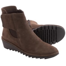 The Flexx Malificent Suede Boots (For Women) in Ebony - Closeouts