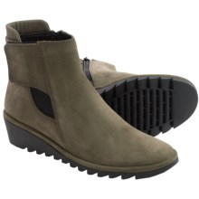 The Flexx Malificent Suede Boots (For Women) in Loden - Closeouts
