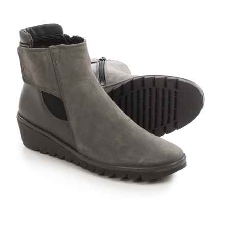 The Flexx Malificent Suede Boots (For Women) in Smoke Dakar/Cashmere - Closeouts