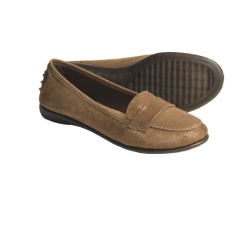The Flexx Mrs. Robinson Moccasins (For Women) in Cognac Lizard