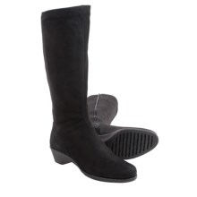 The Flexx Night Walker Tall Boots - Nubuck (For Women) in Black - Closeouts